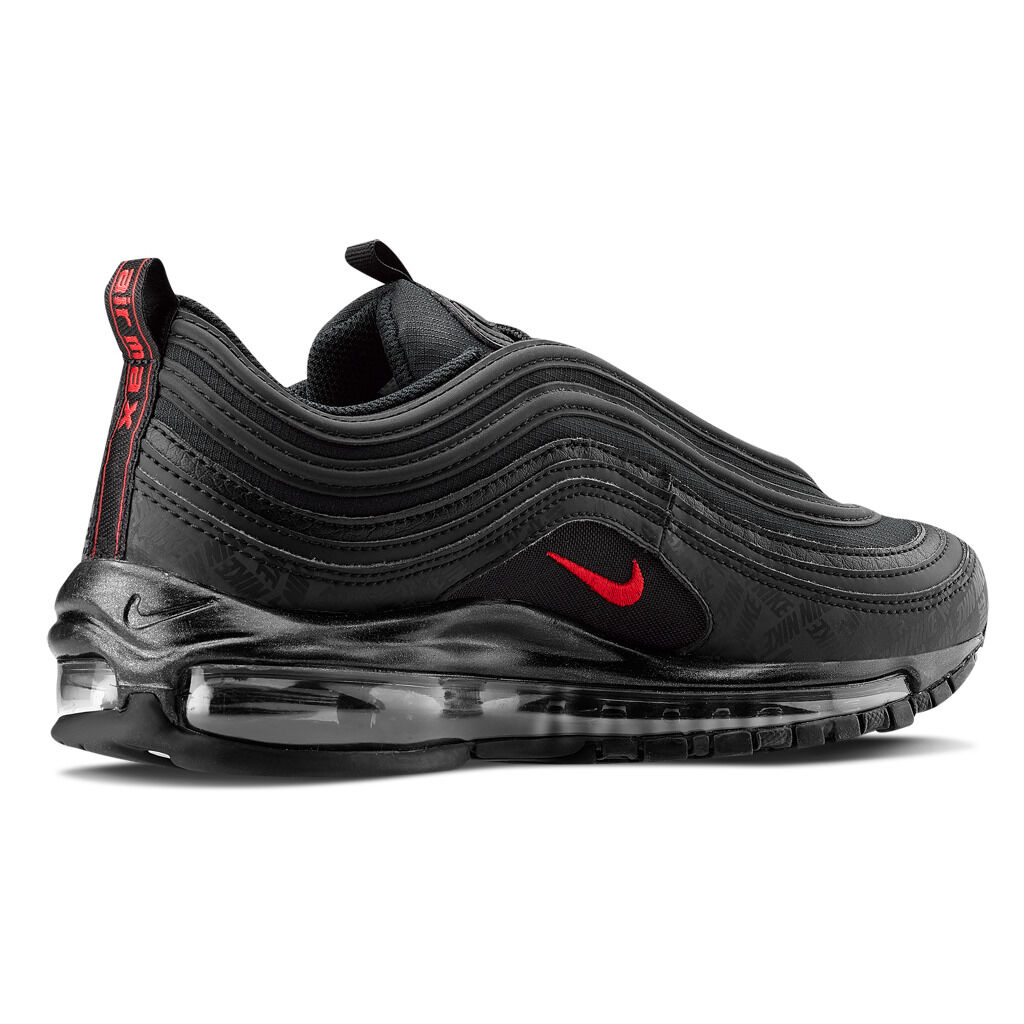 Nike Air Max 97 nere e rosse - AW LAB