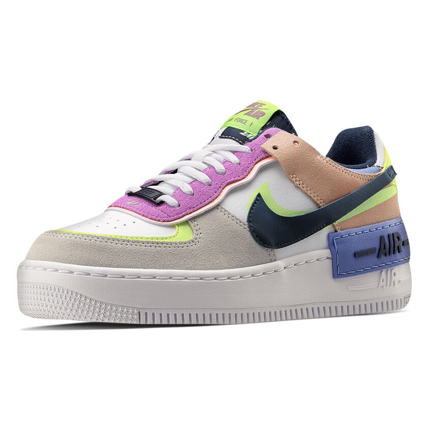 NIKE AIR FORCE 1 SHADOW, multicolor