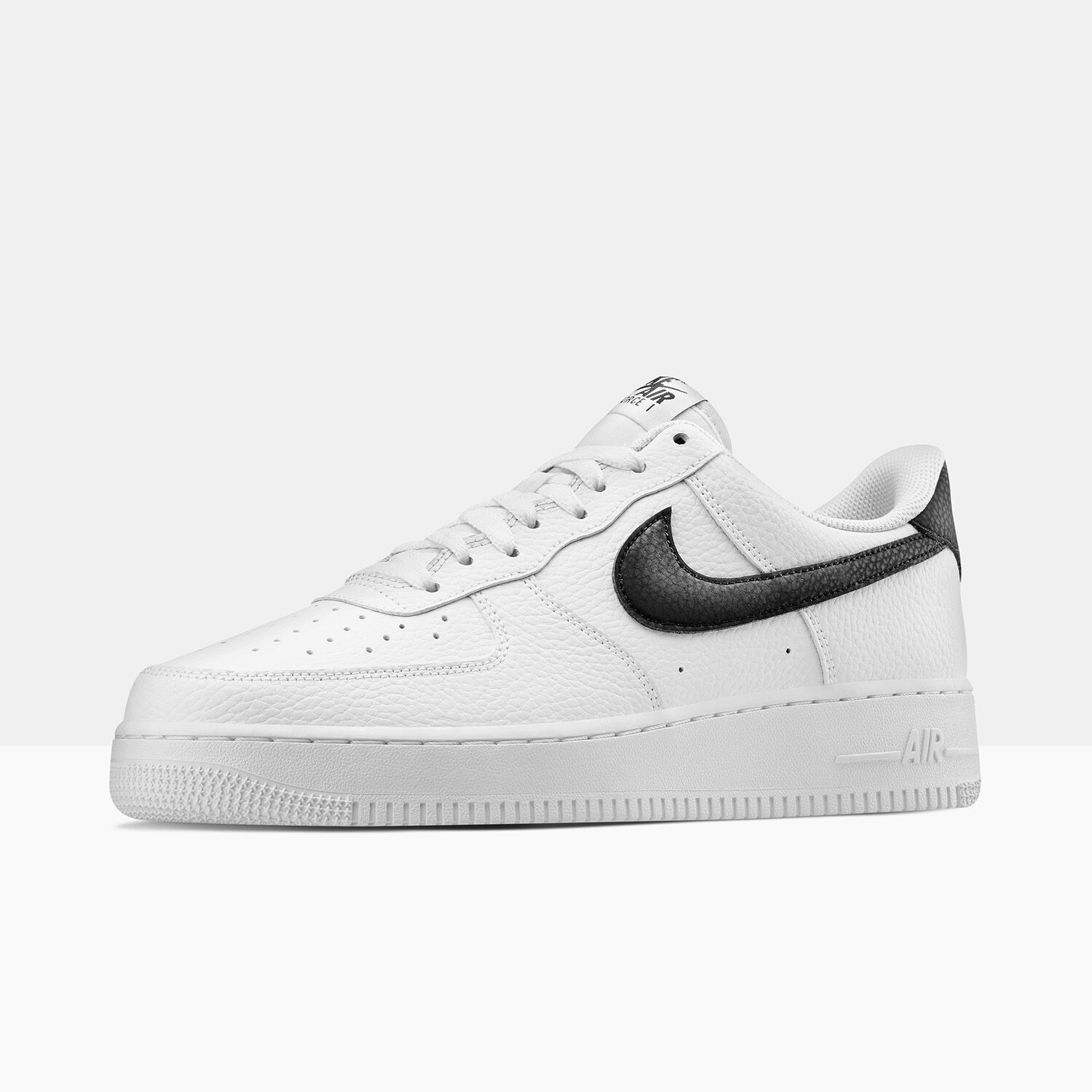 air force 1 bianche nere uomo