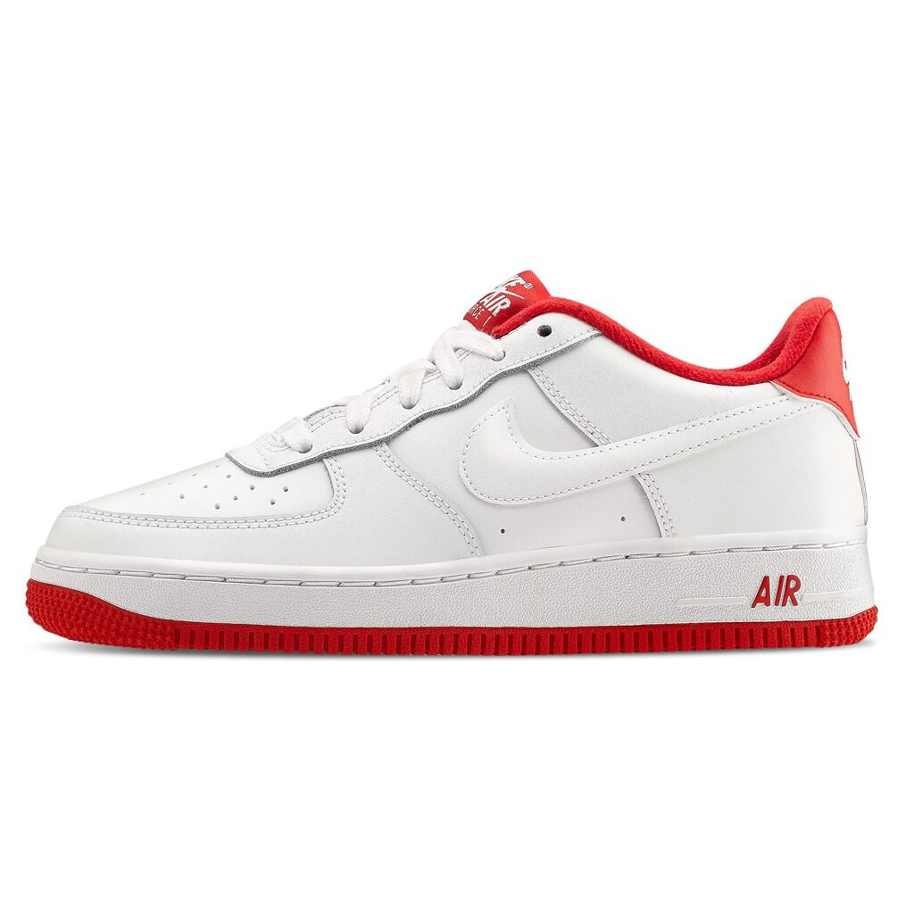 nike air force 1 bianche e rosse