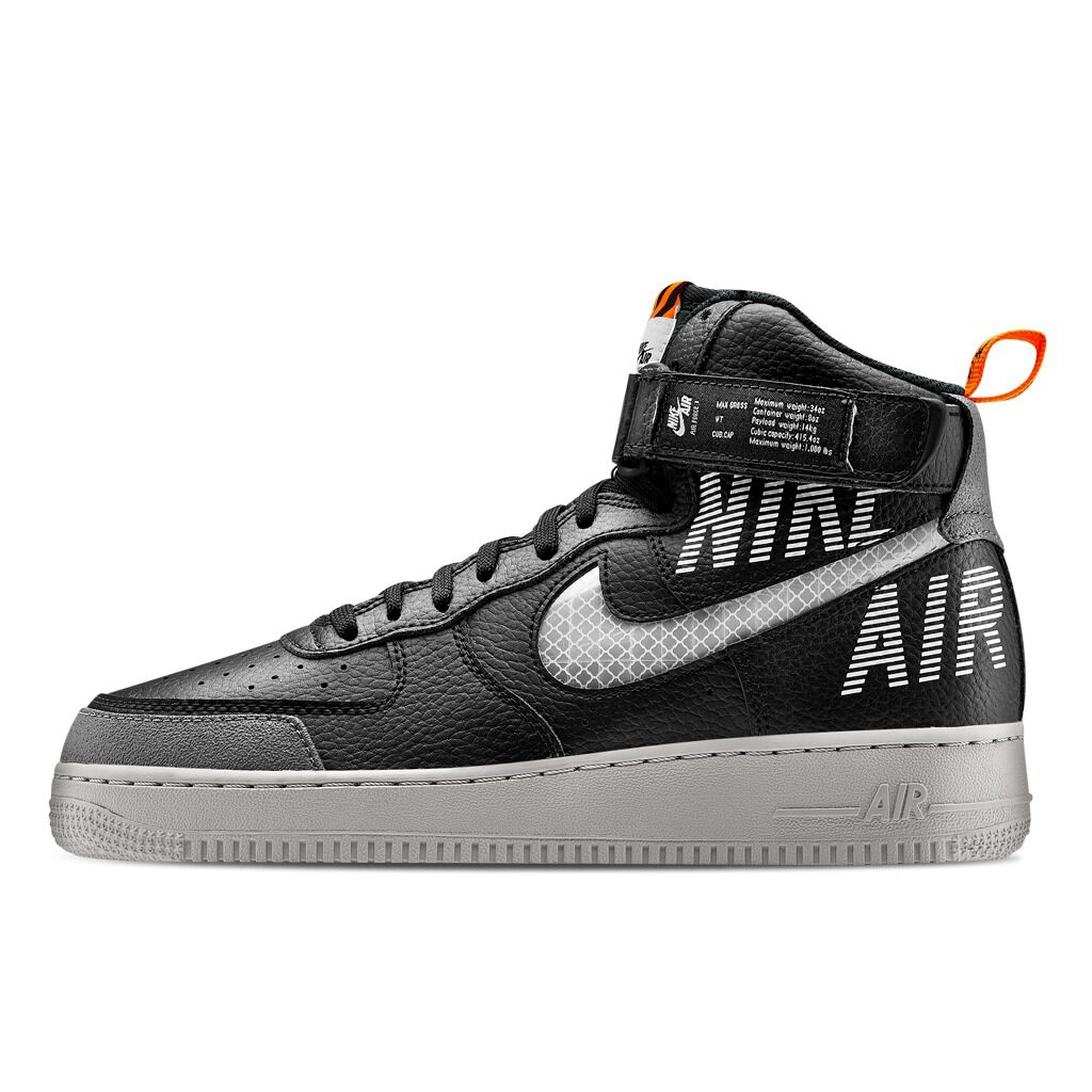 air force 1 grigie e nere