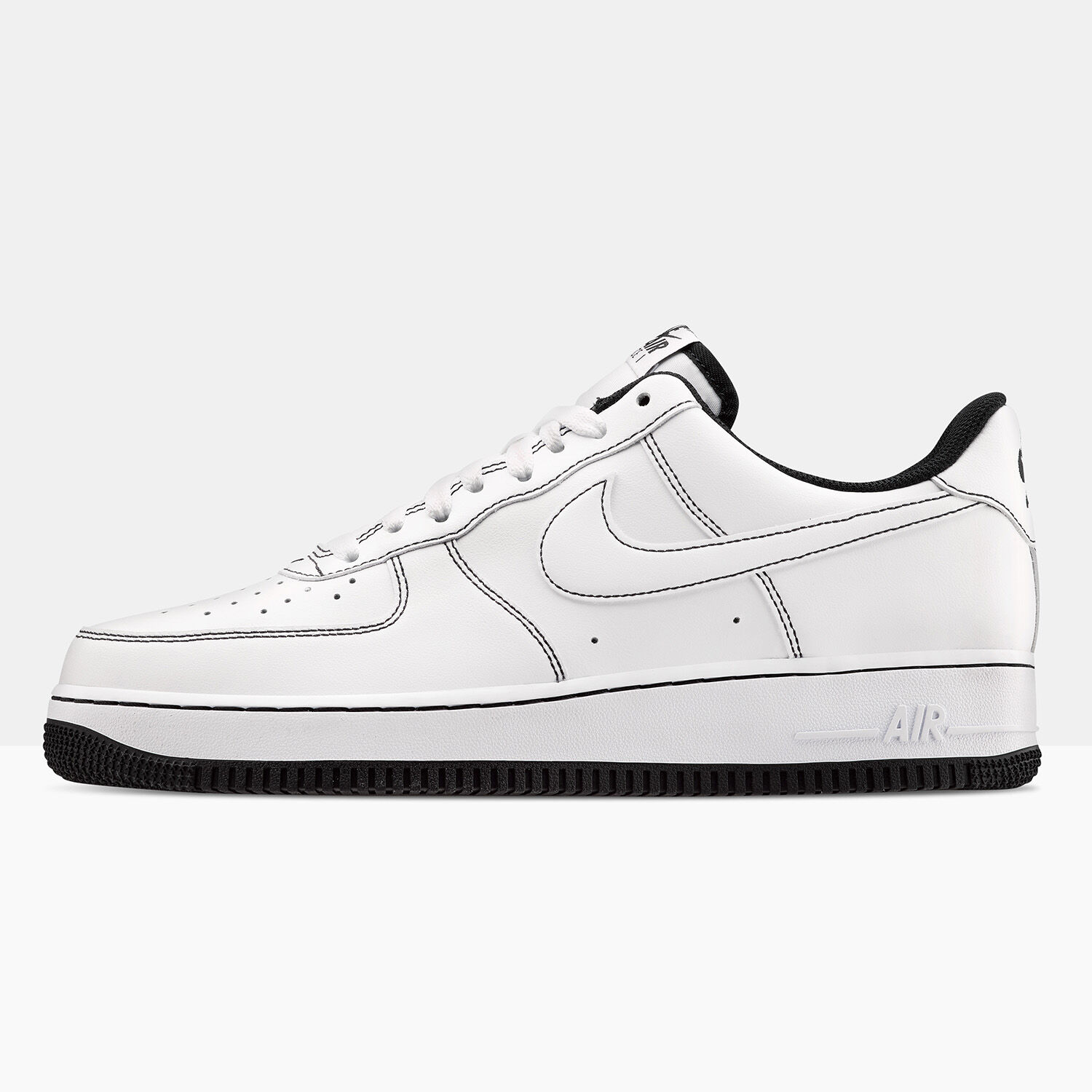 Nike Air Force 1 bianche e nere - AW LAB