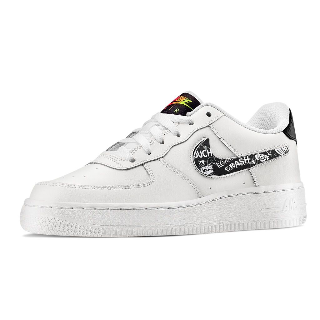 Nike Air Force 1 LV8 3 bianche nere e verdi AW LAB