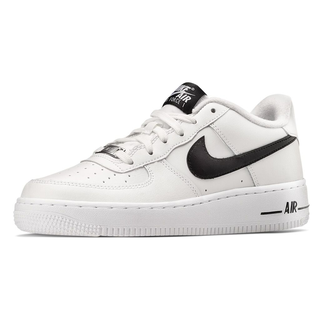 Nike Air Force 1 '07 bianche e nere - AW LAB