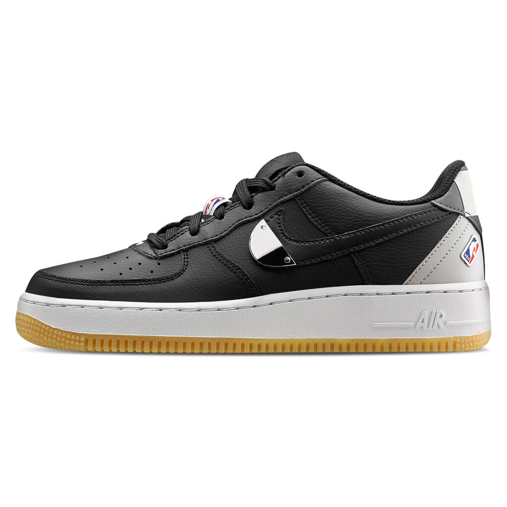 Nike Air Force 1 LV8 1 nere e argento - AW LAB