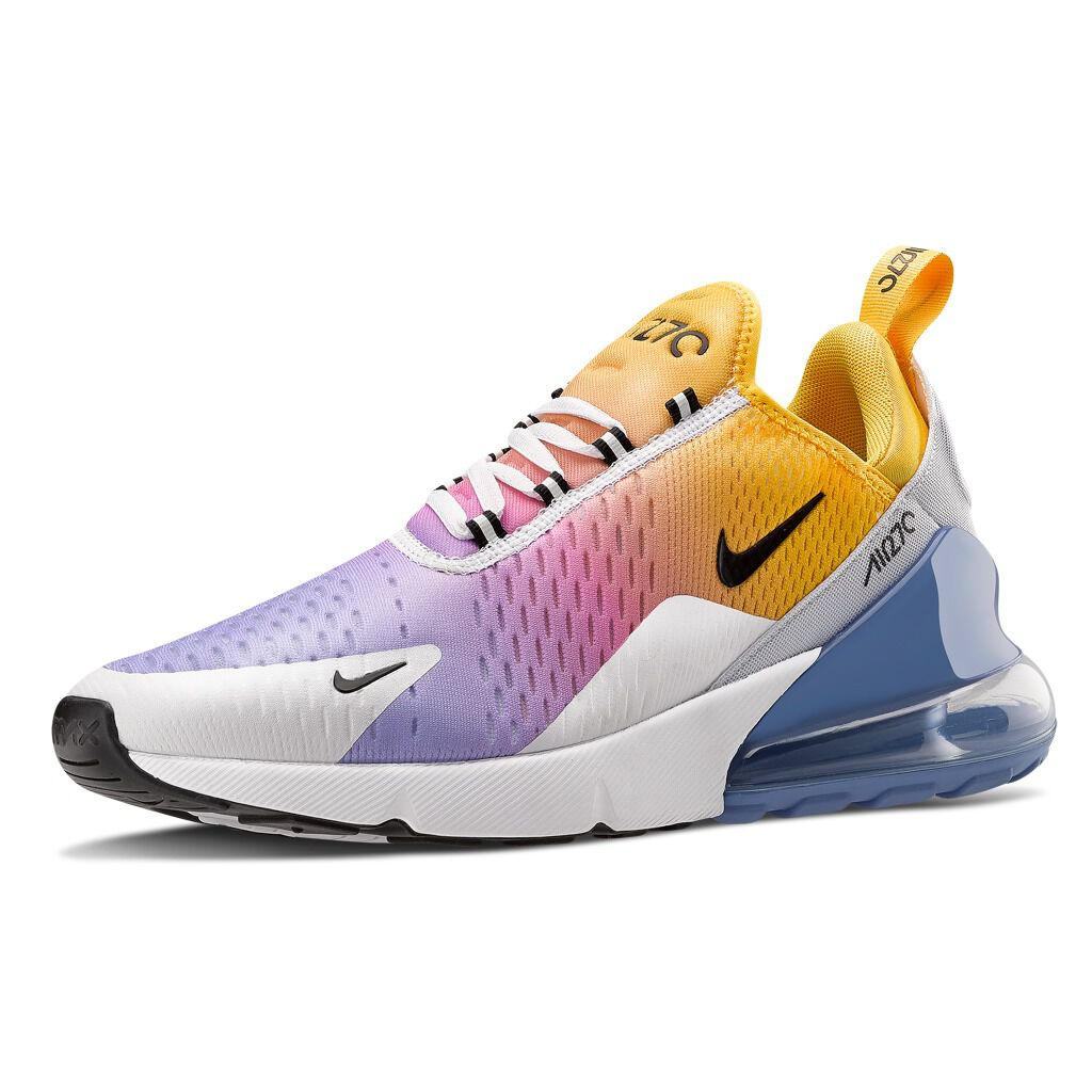 Nike Air Max 270 bianche e gialle - AW LAB
