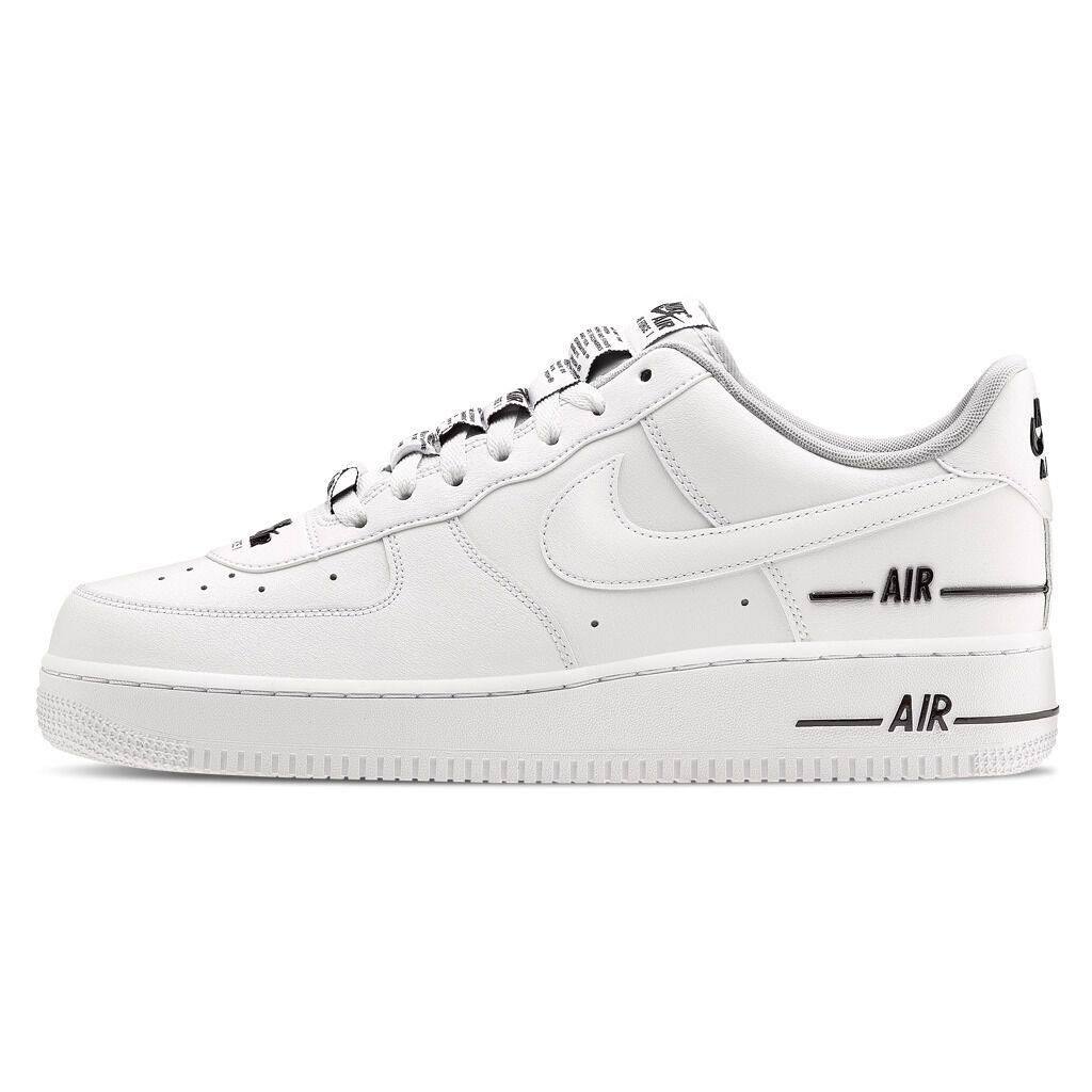 Nike Air Force 1 '07 LV8 2 bianche e grigie AW LAB
