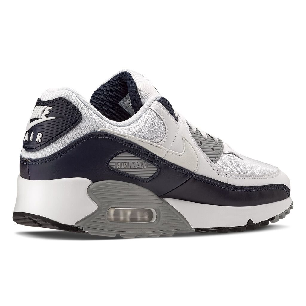 Nike Air Max 90 grigie, bianche e nere - AW LAB