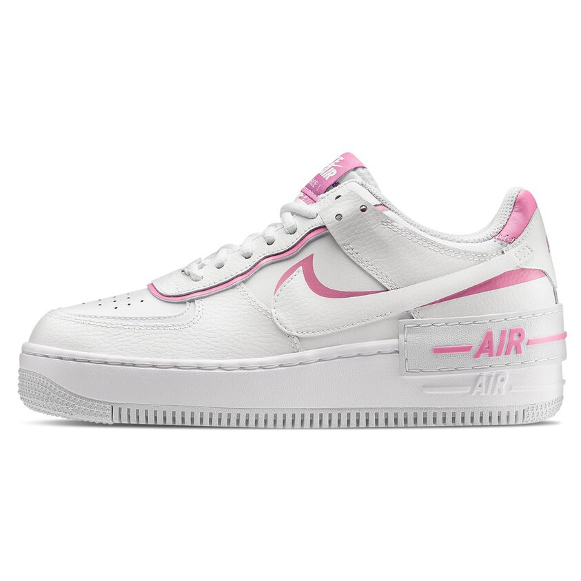 What's wrong The layout statistics  NIKE AIR FORCE 1 SHADOW bianche e rosa - AW LAB