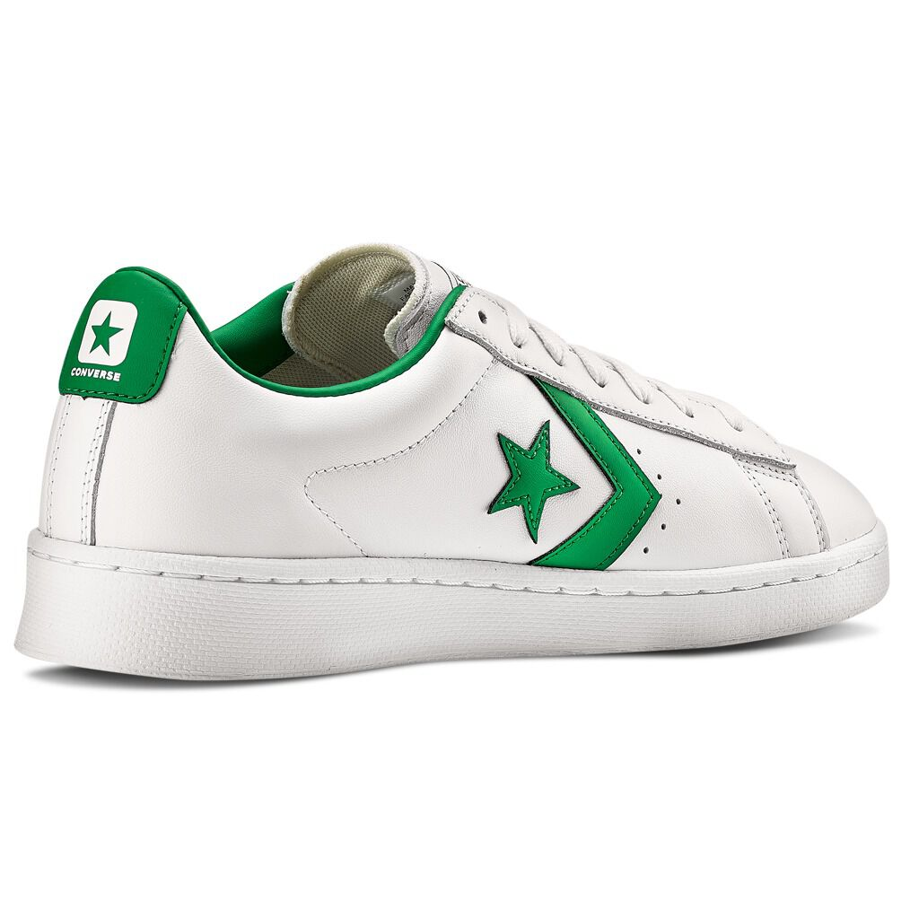 pro leather converse bianche