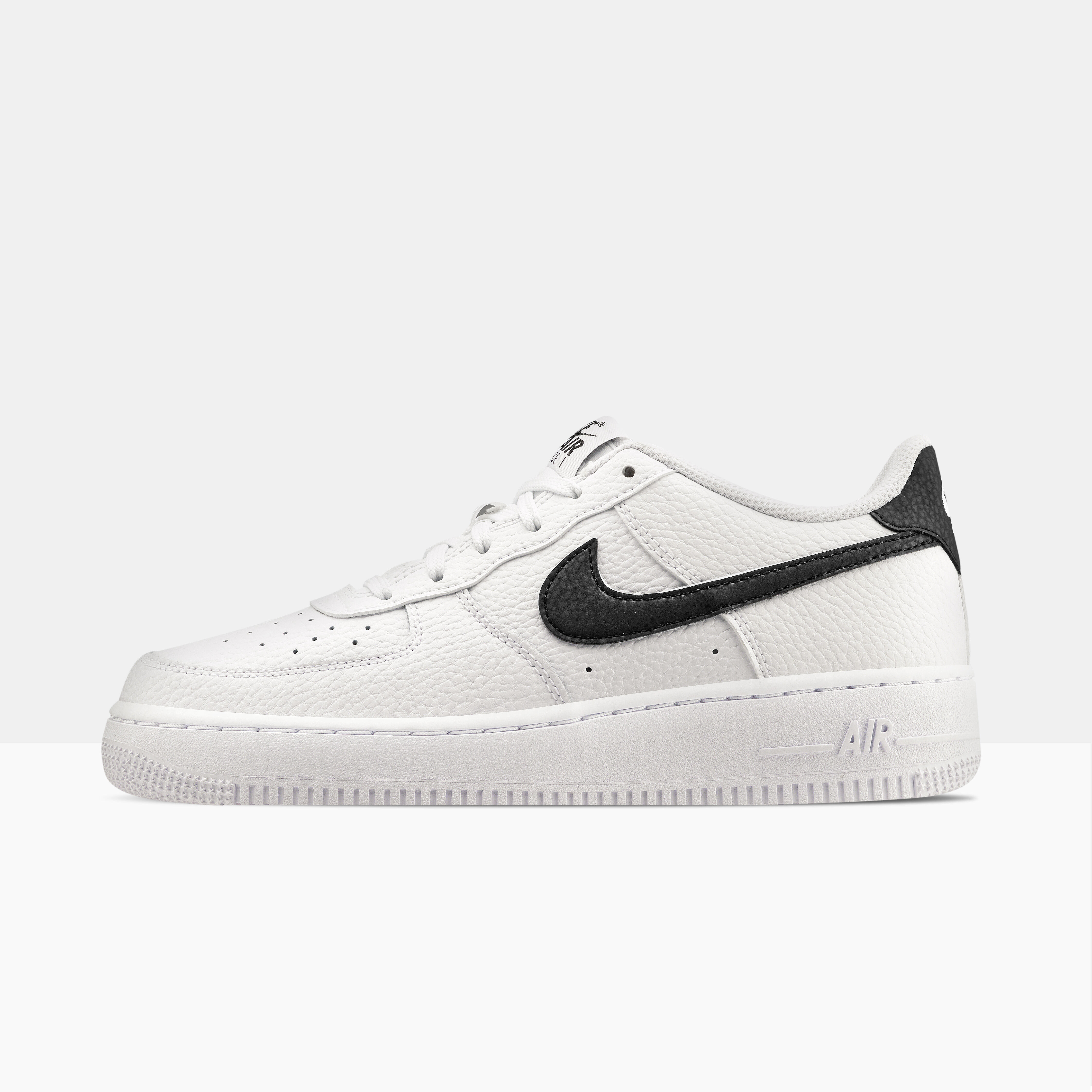Nike Air Force 1 GS bianche e nere - AW LAB