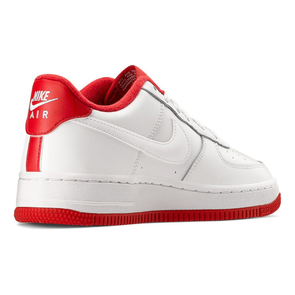 nike air force 1 rosse e bianche