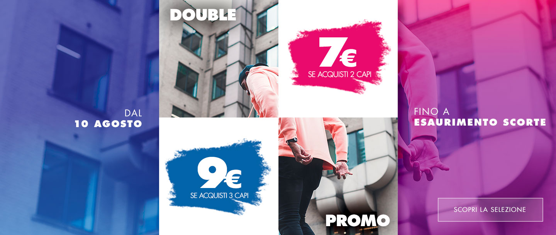 promo double