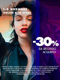 30% sul secondo acquisto