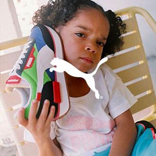 scarpe puma per bambini